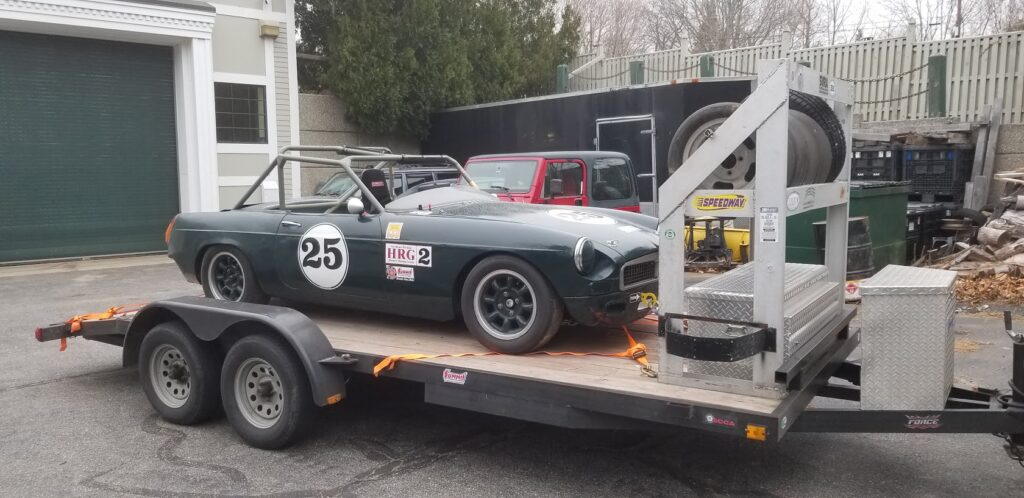 1975 MGB Race Car